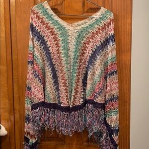 Missoni Poncho Top